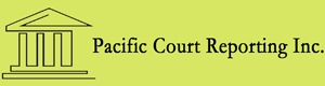Pacific Court Reporting Logo